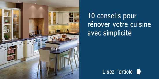 10 conseils pour r nover votre cuisine avec simplicit. Black Bedroom Furniture Sets. Home Design Ideas