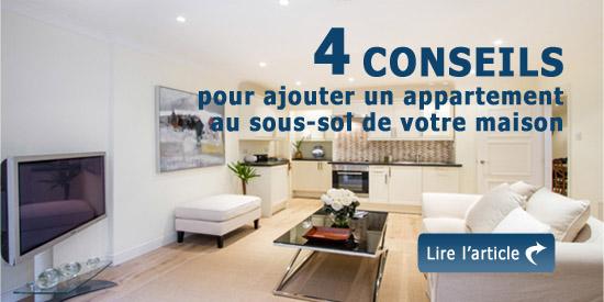 4 conseils pour ajouter un appartement au sous sol de votre maison. Black Bedroom Furniture Sets. Home Design Ideas