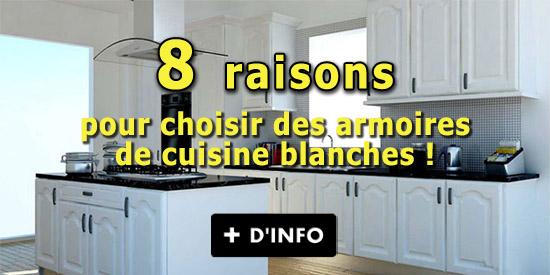 Armoires de cuisine armoire cuisine originale or - Armoire de cuisine blanche ...