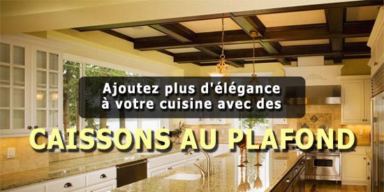 ajoutez plus d 39 l gance votre cuisine avec des caissons. Black Bedroom Furniture Sets. Home Design Ideas