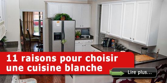 Choisir une cuisine blanche 11 raisons consid rer for Que choisir cuisine