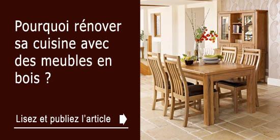 Pourquoi r nover sa cuisine avec des meubles en bois - Renover des meubles en bois ...
