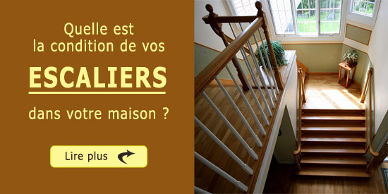 Quelle est la condition de vos escaliers dans votre maison - Quelle temperature dans une maison ...