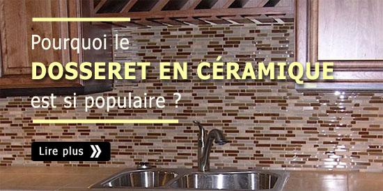 Pourquoi le dosseret en c ramique est si populaire for Ceramique murale cuisine