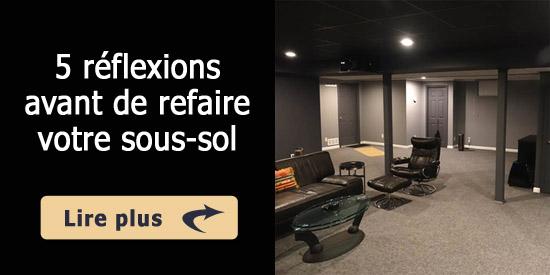 5 r flexions avant de refaire votre sous sol. Black Bedroom Furniture Sets. Home Design Ideas