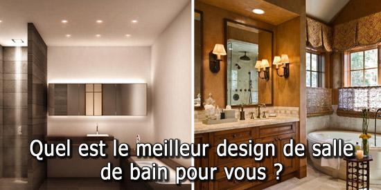 quel est le meilleur design de salle de bain pour vous. Black Bedroom Furniture Sets. Home Design Ideas