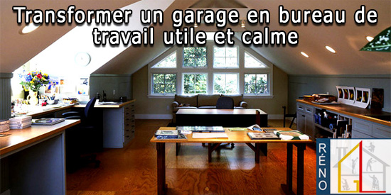 5 conseils simples pour transformer un garage en bureau de travail. Black Bedroom Furniture Sets. Home Design Ideas