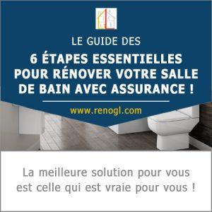 Guide rénovation de salle de bain