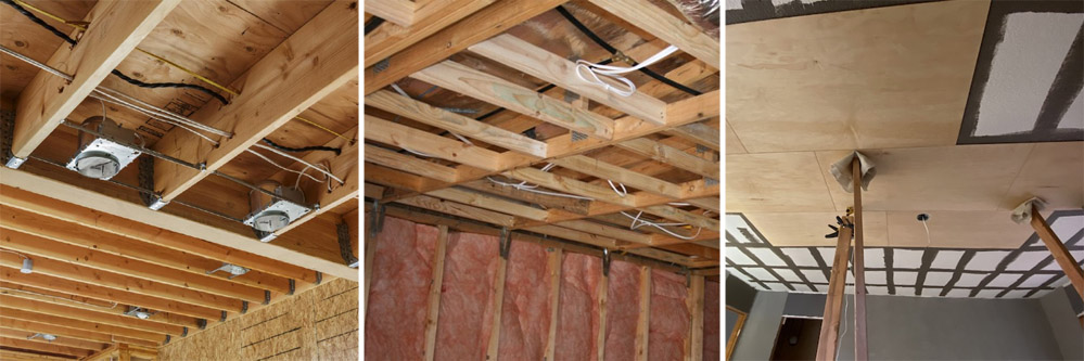 Construction de plafonds