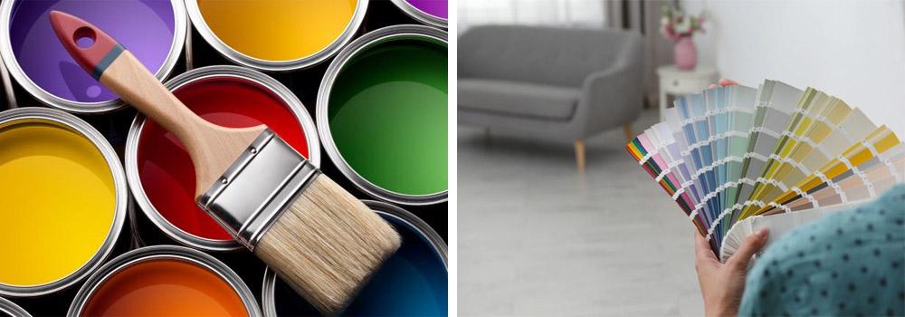 Choisir la couleur de la peinture