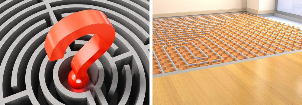 Comment choisir votre plancher chauffant