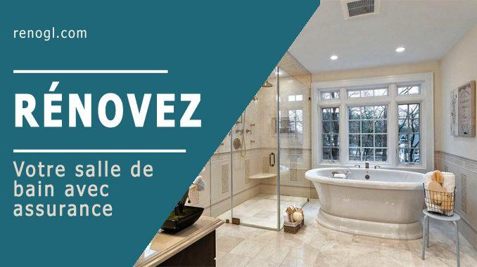 Rénovez votre salle de bain avec assurance
