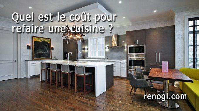 Quel est le coût pour refaire une cuisine ?