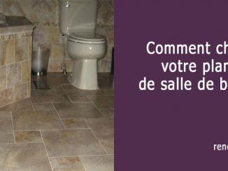 couvre plancher de salle de bain