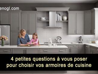 Choisir vos armoires de cuisine