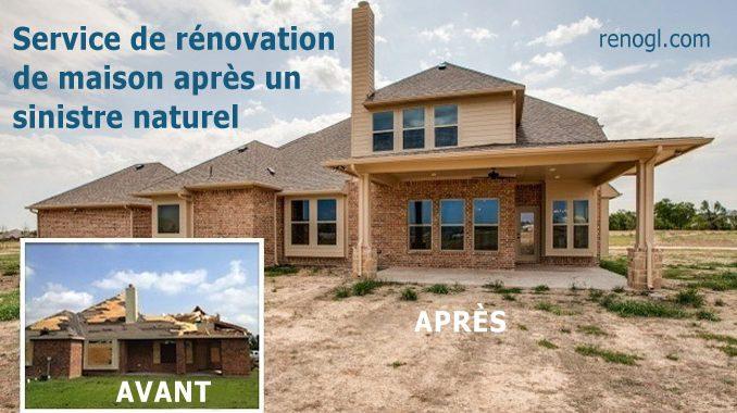 énovation de maison après un sinistre