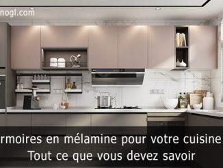 Armoires en mélamine pour votre cuisine